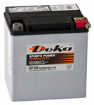 Deka ETX30L AGM Power Sport Battery (400 CCA)