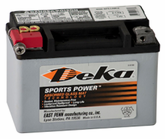 Deka ETX9 AGM Power Sport Battery (120 CCA)