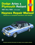 Dodge Aries & Plymouth Reliant Haynes Repair Manual (1981-1989)