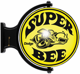 Dodge Super Bee Revolving Wall Light