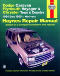 Dodge Caravan, Plymouth Voyager & Chrysler Town and Country Haynes Repair Manual (1984-1995)