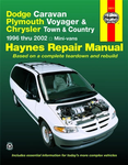 Dodge Caravan, Plymouth Voyager & Chrysler Town and Country Haynes Repair Manual (1996-2002)