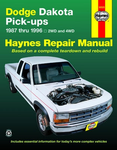 Dodge Dakota Pick-Up Haynes Repair Manual (1987-1996)