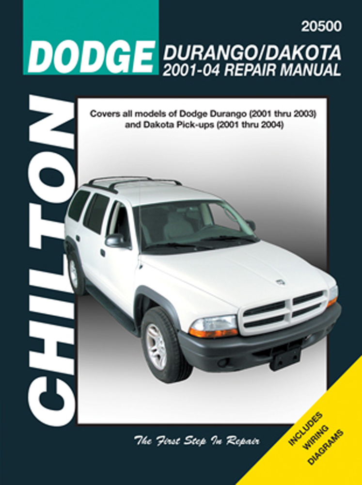 dodge durango dakota chilton repair manual 2001 2004 hay20500 rh autobarn net Chevy Truck Repair Manual where can i buy chilton repair manuals