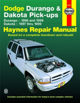 Dodge Durango & Dakota Haynes Repair Manual (1997-1999)