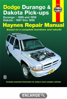 Dodge Durango amp Dakota Haynes Repair Manual 1997 1999