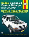 Dodge Durango & Dakota Haynes Repair Manual (2000-2004)