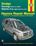 Dodge Durango & Dakota Haynes Repair Manual (2004-2011)