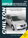 Dodge Grand Caravan & Chrysler Town & Country Chilton Repair Manual (2008-2012)