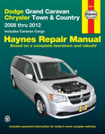 Dodge Grand Caravan & Chrysler Town & Country Haynes Repair Manual (2008-2012 )
