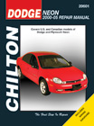 Dodge Neon Chilton Manual (2000-2005)