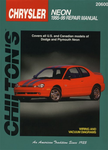 Dodge& Plymouth Neon Chilton Manual (1995-1999)