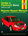Dodge & Plymouth Neon Haynes Repair Manual (2000-2005)