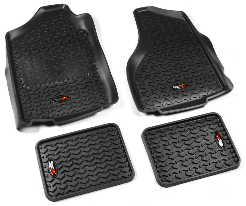 Dodge Ram Front & Rear All Terrain Floor Liners-Pair (2002
