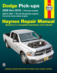 Dodge Ram Haynes Repair Manual (2009-2016)