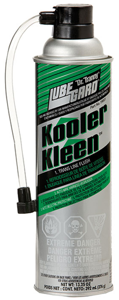 Dr. Tranny Kooler Kleen Transmission Line Flush Cleaner 13 oz
