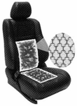 Dual Electronic Heated Carbon Fiber Seat Pads (2 Pack)