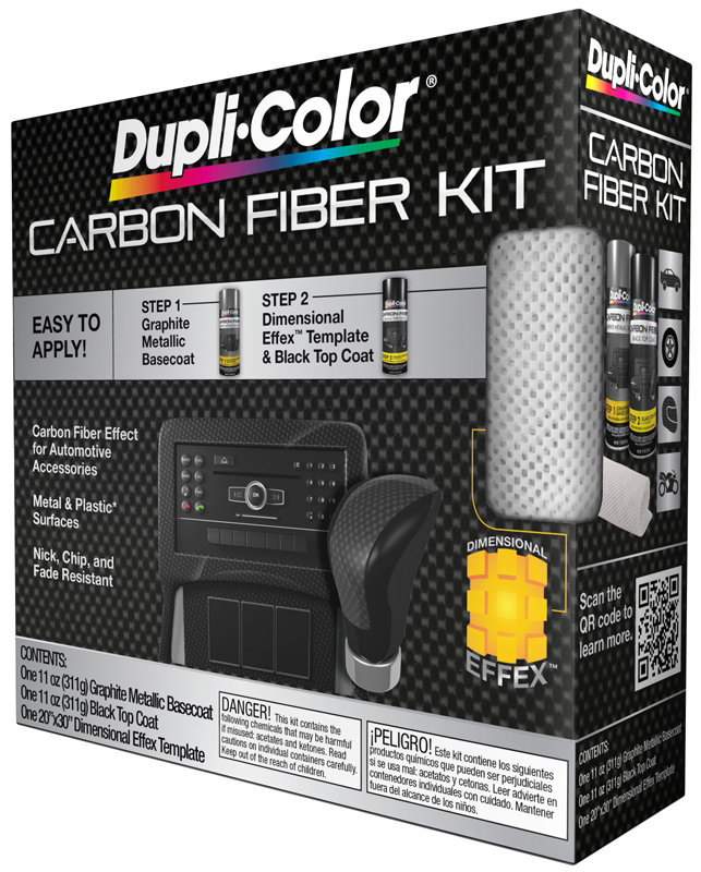dupli color carbon fiber kit dupcfk100. Black Bedroom Furniture Sets. Home Design Ideas
