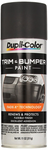 Dupli-Color Charcoal Black Trim & Bumper Paint (11.OZ)