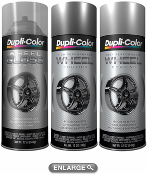 Dupli-Color High Performance Wheel Coating (12 oz) - DUPWPseries