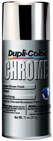 dupli color instant chrome spray enamel 11 oz dupcs101. Black Bedroom Furniture Sets. Home Design Ideas