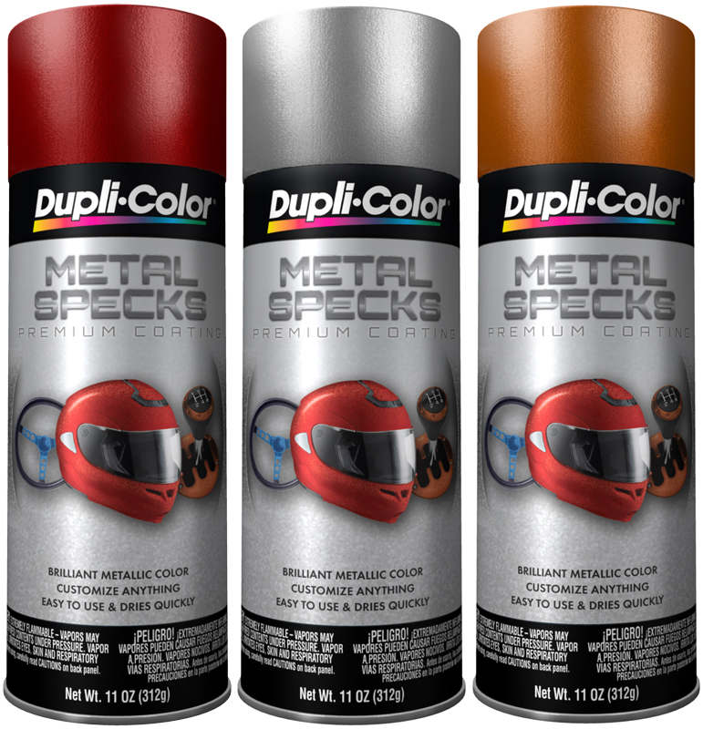 Dupli color metal specks spray paint 11 oz dupmsseries Black metal spray paint
