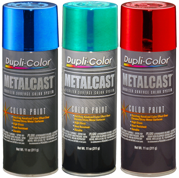 Duplicolor MetalCast Annodized Paint (11 oz.) - DUPMCXXX-Series