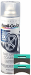 Duplicolor Tire Shine Coating (15.5 oz) & Applicator Pads Kit