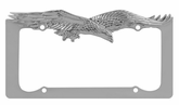 Eagle Chrome License Plate Frame