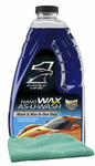 Eagle One Nanowax Wax-As-U-Wash Car Wash (64 oz), Microfiber Cloth Kit