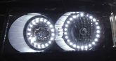 "Evo LED 3½"" Ultra White Halo Angel Eyes (Pair)"