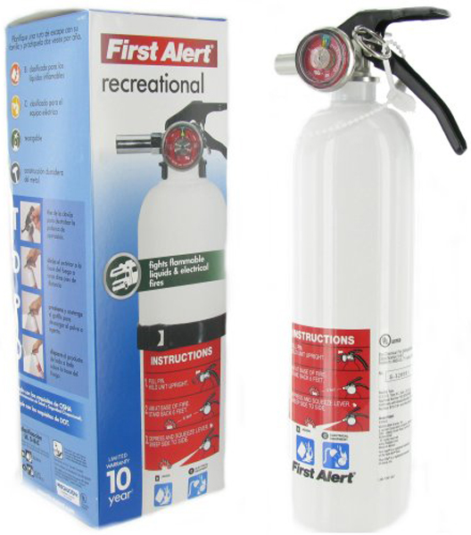 Image of First Alert Recreational Fire Extinguisher
