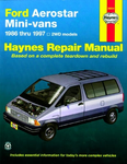 Ford Aerostar Mini-Van Haynes Repair Manual (1986-1997)