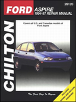 Ford Aspire (1994-97) Chilton Manual