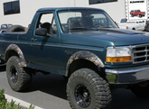 Ford Bronco & F-Series Bushwacker Extend-A-Fender Flare Kit (1992-1997)