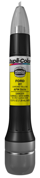 Ford Chrome Yellow All-In-1 Scratch Fix Pen - BY (1991-2015)