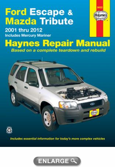 ford escape mazda tribute haynes repair manual 2001 2012 hay36022 rh autobarn net 2010 ford escape repair manual free 2010 ford escape chilton repair manual