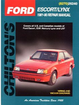 Ford Escort/Mercury LYNX (1981-90) Chilton Manual