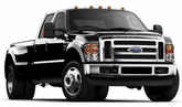 Ford F-350 Lund Elite Sport Style Fender Flares (2008-2010)