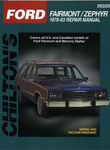 Ford Fairmont & Mercury Zephyr Chilton Repair Manual (1978-1983)