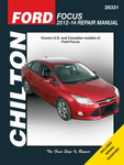 Ford Focus Chilton Repair Manual (2012-2014)