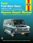 Ford Full-size Vans Haynes Repair Manual (1969 - 1991)