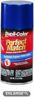 Ford, Lincoln & Mazda Sonic Blue Pearl Auto Spray Paint - SN (2002-2012)