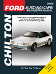 Ford Mustang & Capri Chilton Manual (1979-93)