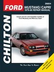 Ford Mustang & Capri Chilton Manual (1979-1988)