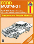 Ford Mustang II Haynes Repair Manual (1974-1978)