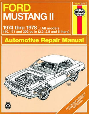 1978 international scout ii wiring diagram ford mustang ii haynes repair manual (1974-1978) - xxx36049 1978 ford mustang ii wiring diagram