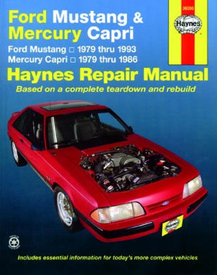 ford mustang mercury capri haynes repair manual 1979 1993 hay36050 rh autobarn net 1996 Mercury Mystique Wiring-Diagram 1996 mercury cougar xr7 repair manual