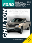 Ford Pick-Ups, Expedition & Lincoln Navigator Chilton Manual (1997-2014)