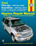 Ford Pick-ups, Expedition & Lincoln Navigator Haynes Repair Manual (1997-2012)